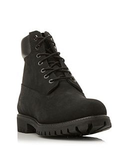 Classic nubuck worker boots