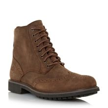 Timberland Nubuck lace up brogue boots