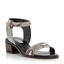Mitzi pin studded block sandals