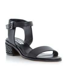 Dune Mitzi pin studded block sandals
