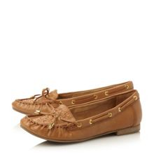 Goff woven moccasin loafers