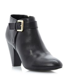Nash buckle dressy ankle boots