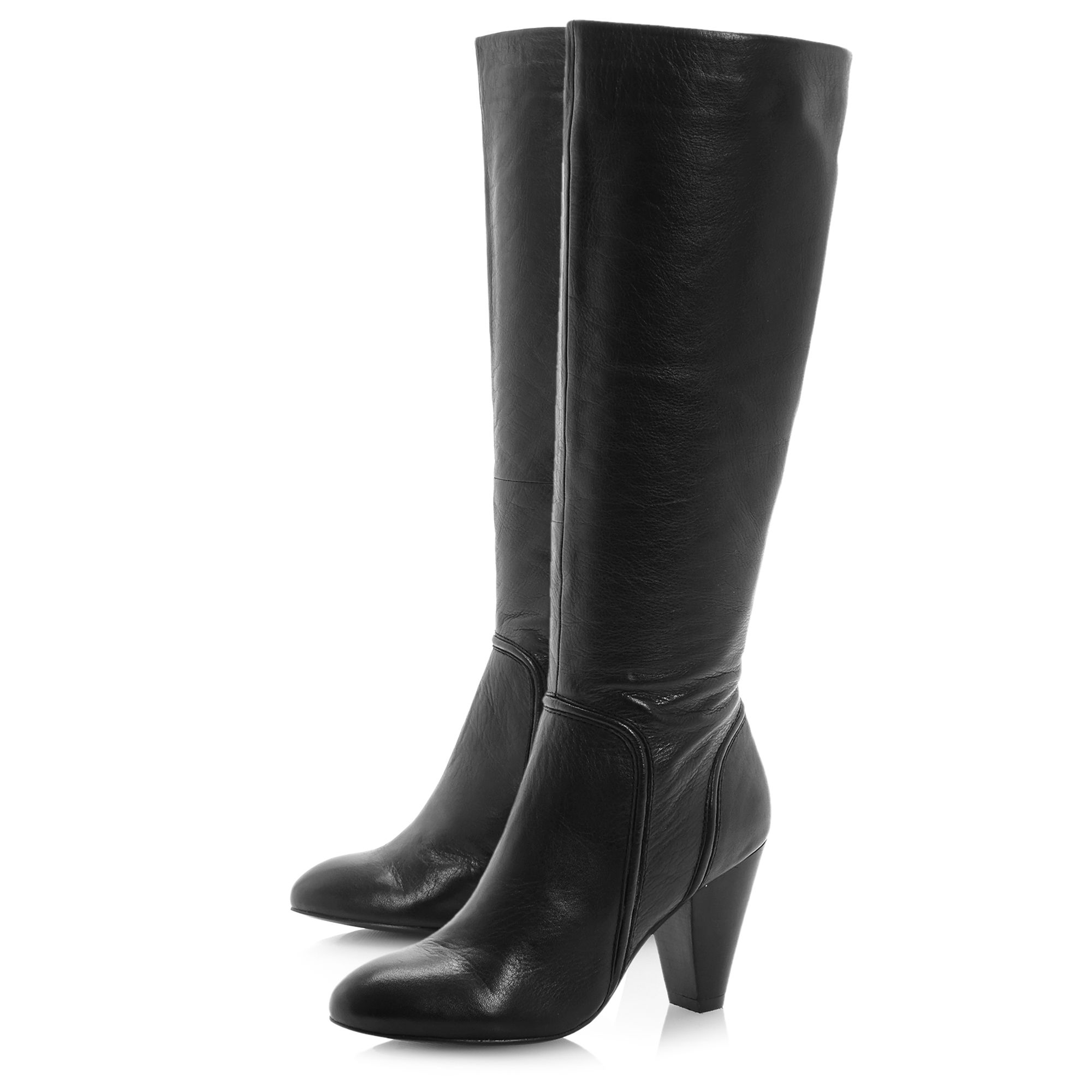 Sip folded detail dressy high boots