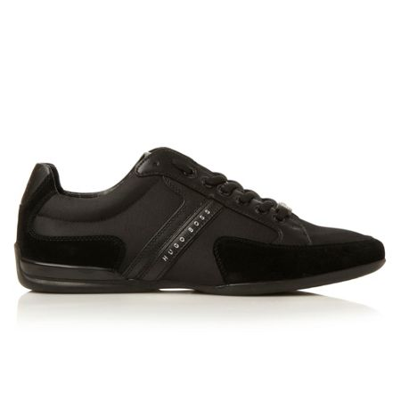 Hugo Boss Spacit combo suede mudguard trainer