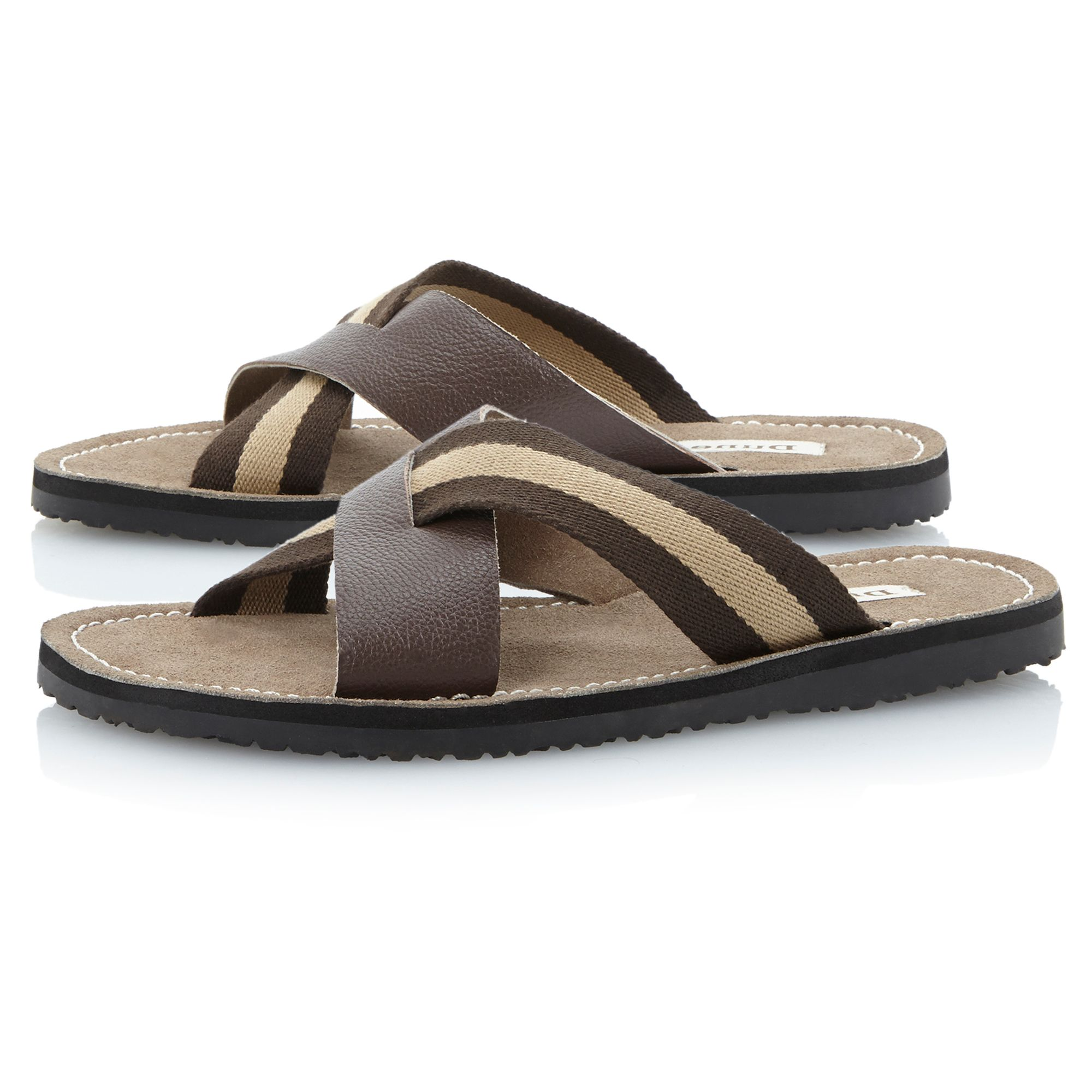Indiana soft stripe sandal