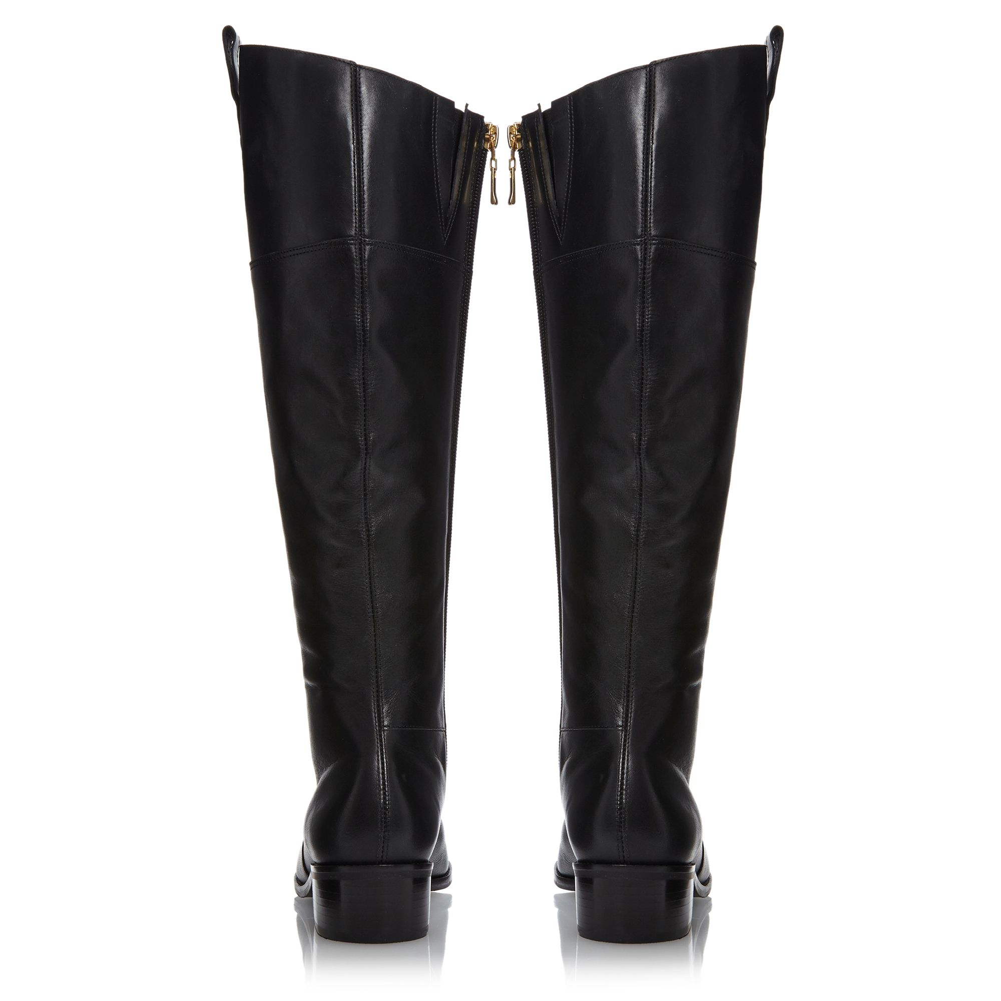 Troonbridge contrast collar riding boots