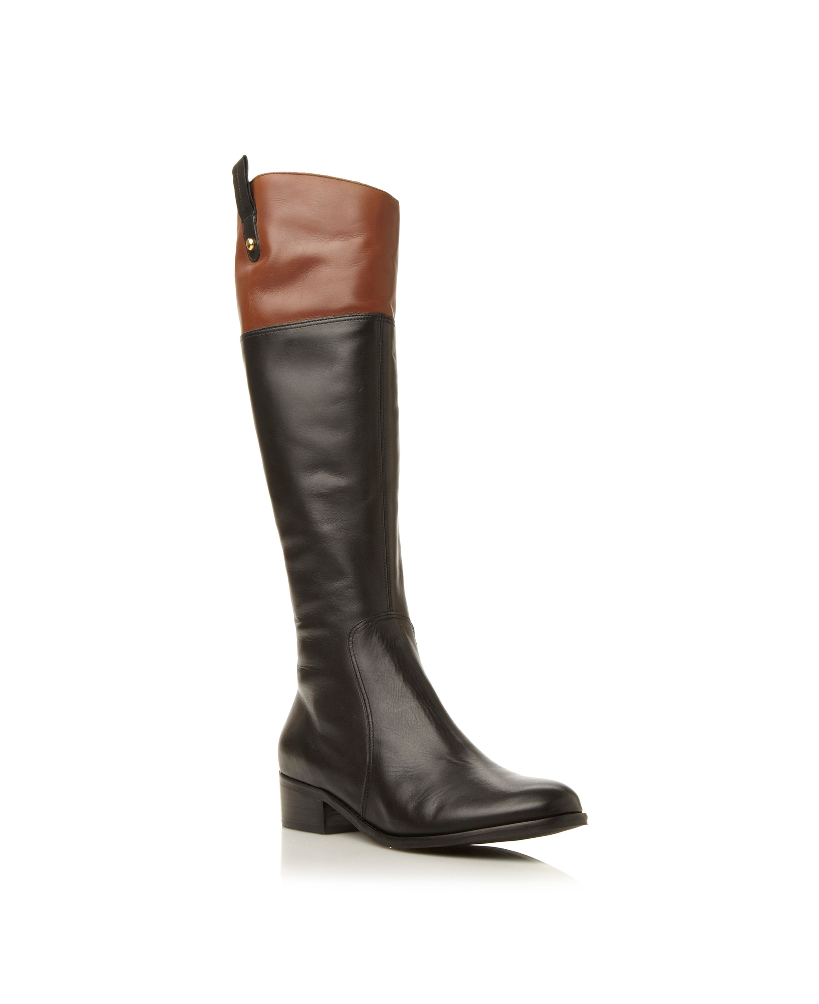 Trilbury contrast collar riding boots