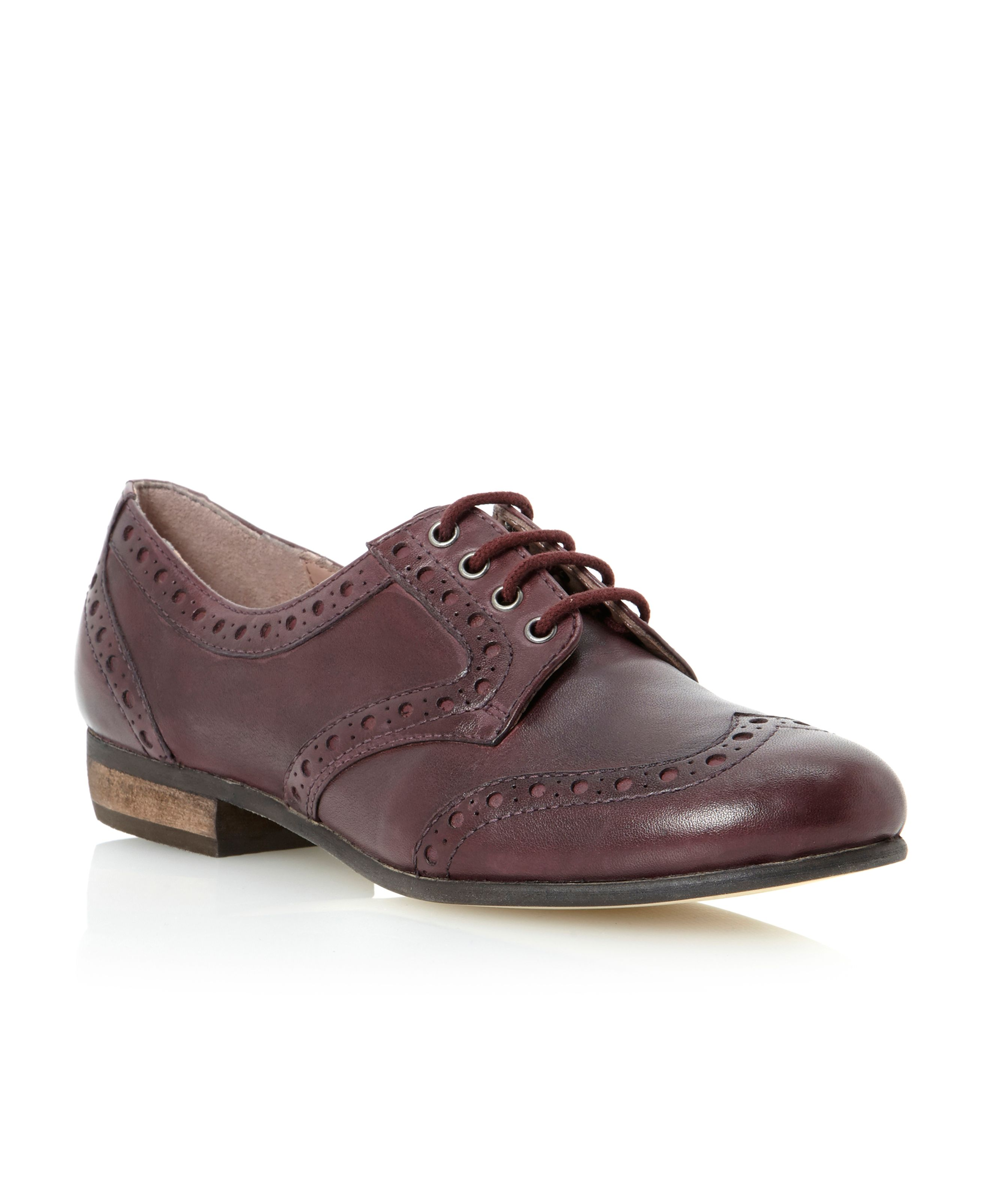 Linfords flexi lace up loafer shoes