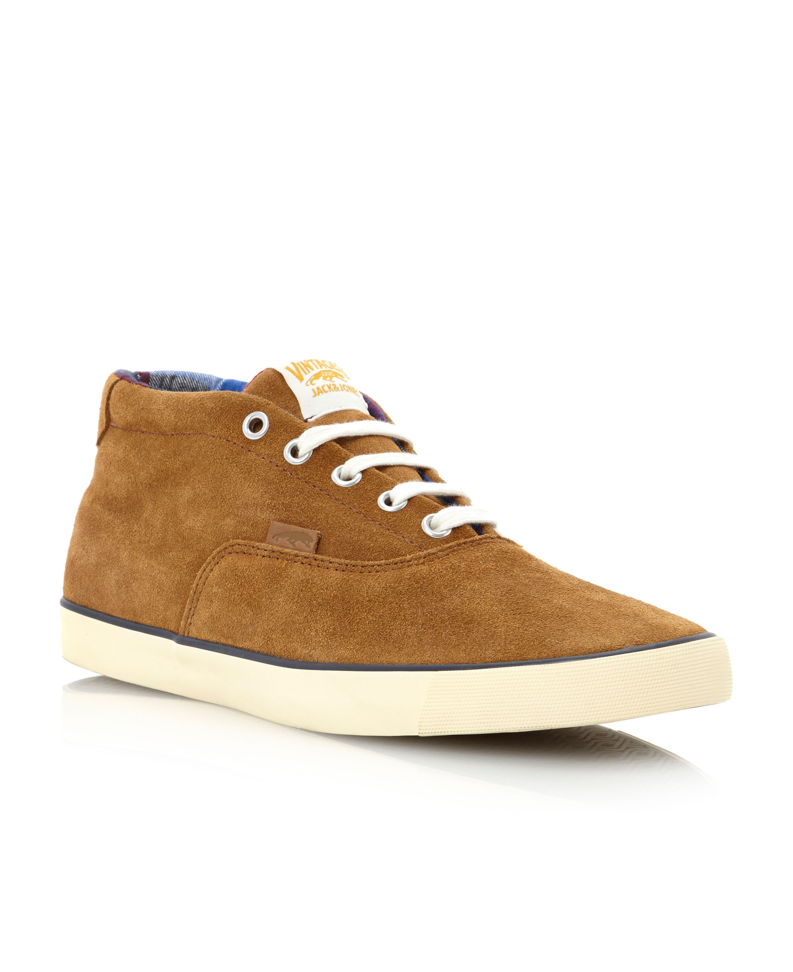 Jj Surf Plain suede hi top boot