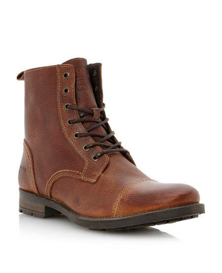 Savek premium leather worker boot