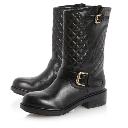 Dune Router-quilted biker boots