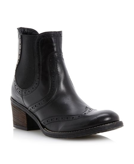 Dune Prets-brogue shoes chelsea boots