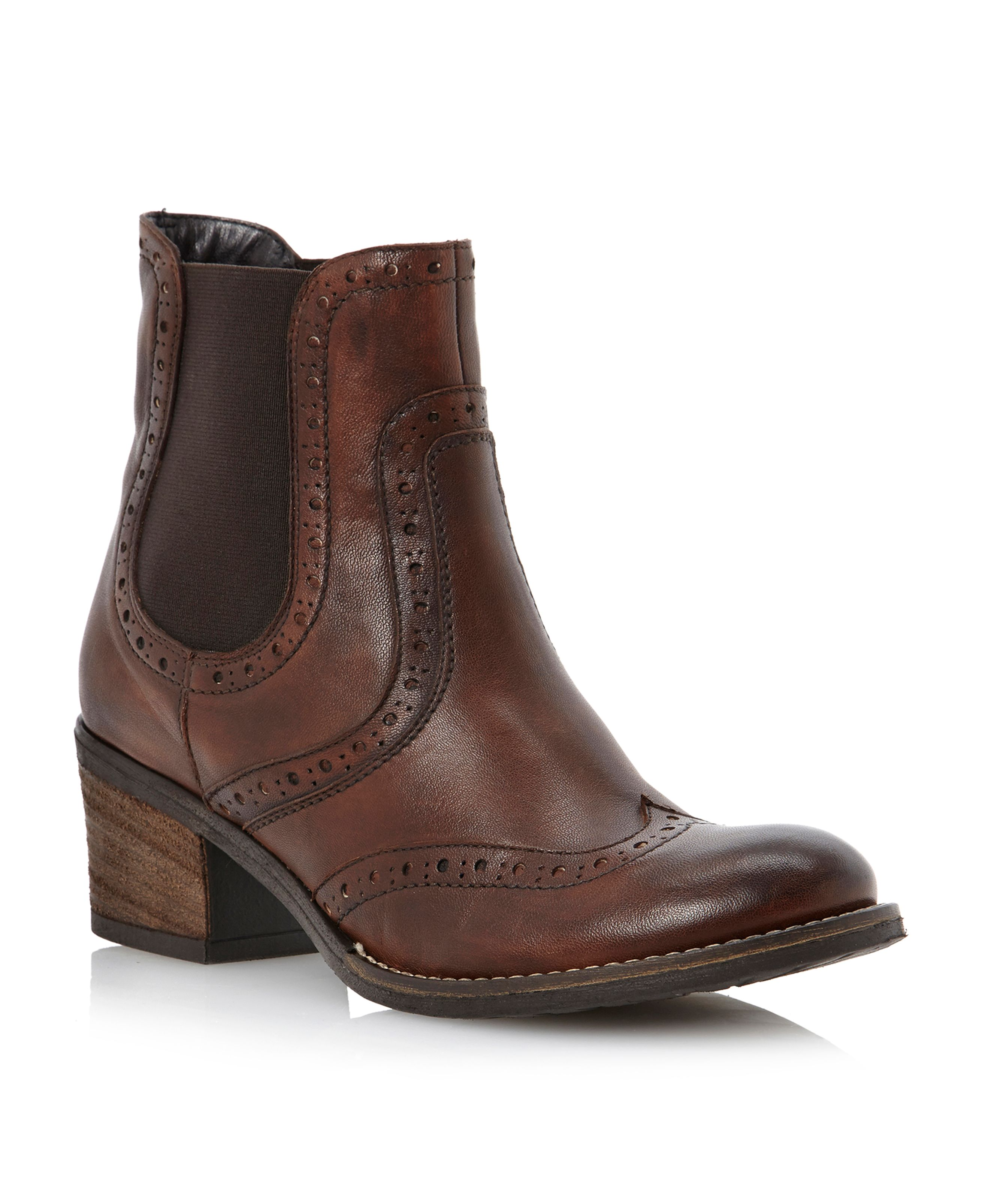 Prets-brogue shoes chelsea boots