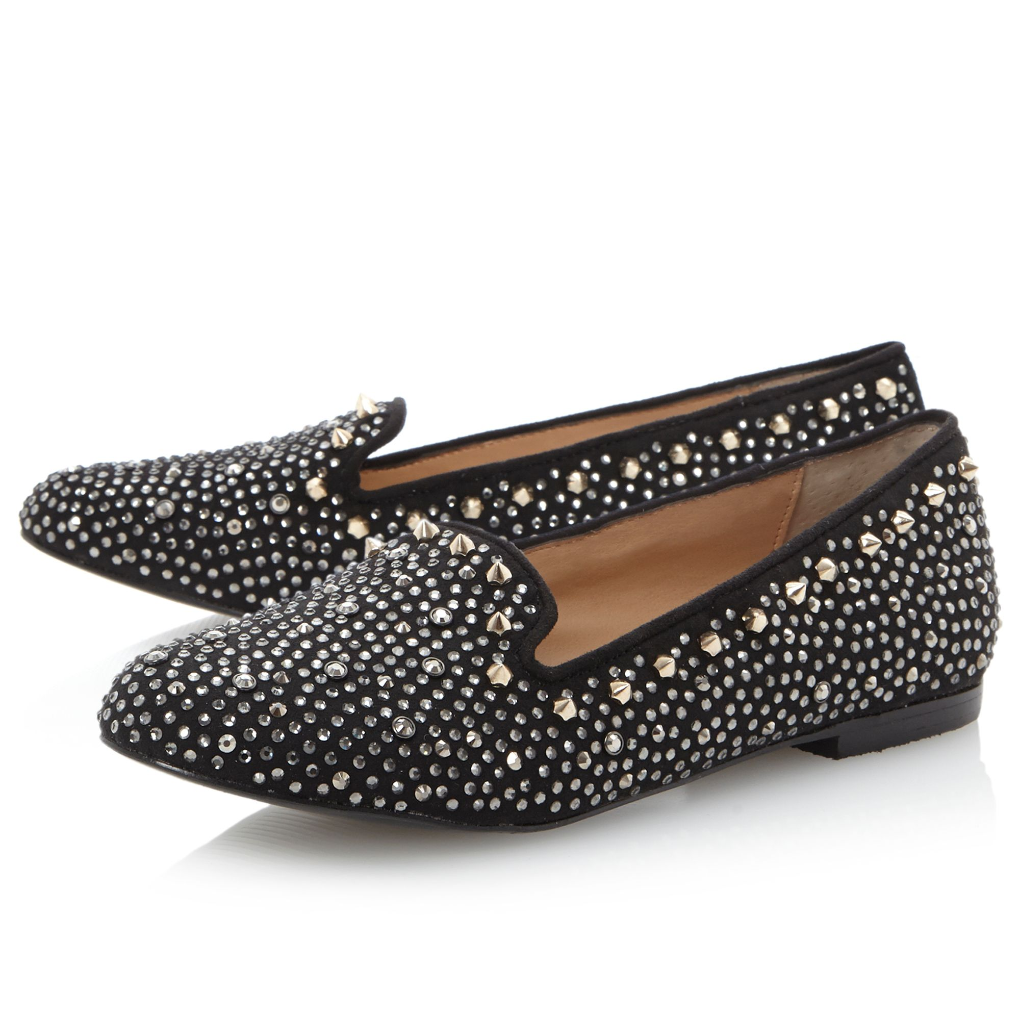 Graanite SM studded slipper loafer shoes