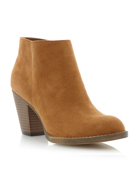 Head Over Heels Pastri ankle mid heel boots