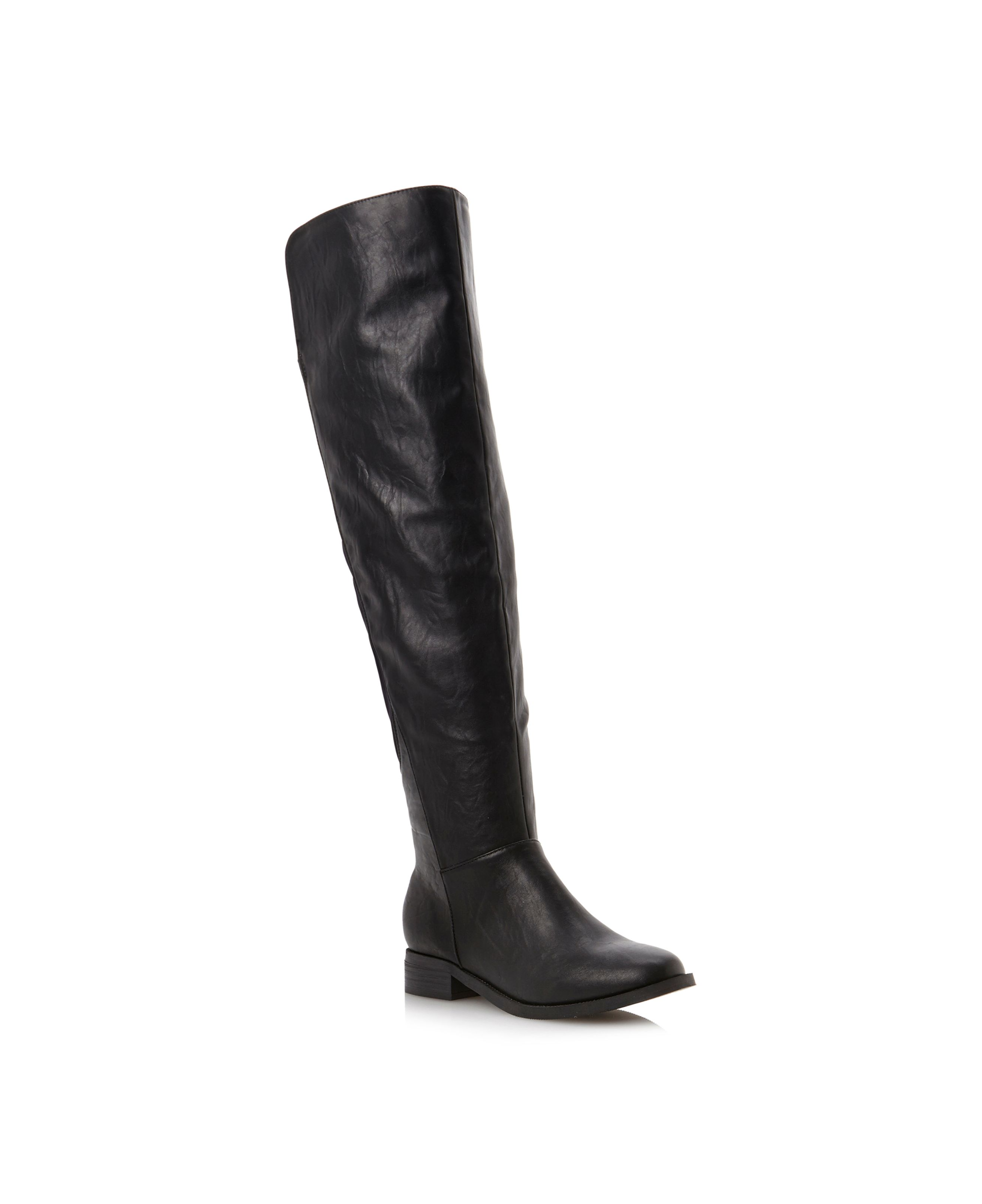 Talia over the knee flat boots