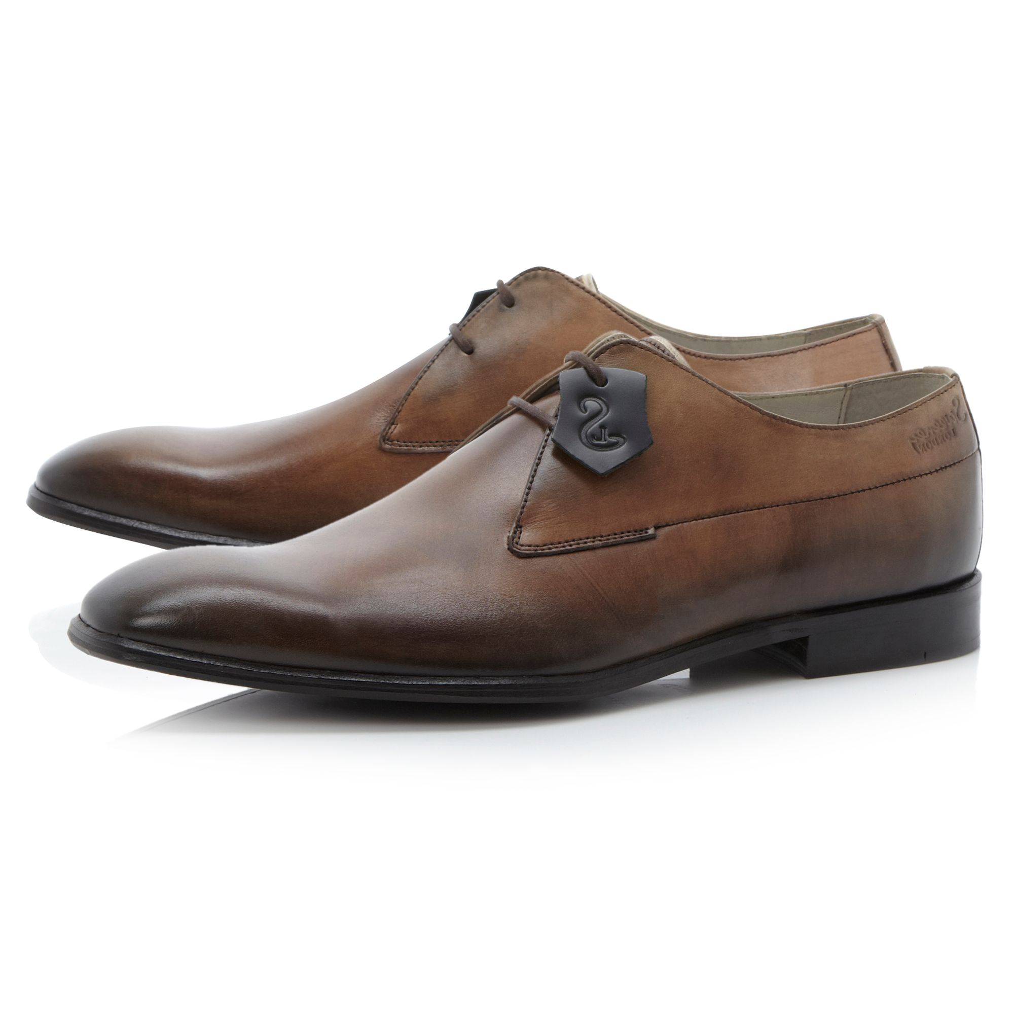 Reydon-2 eye plain toe derby shoe