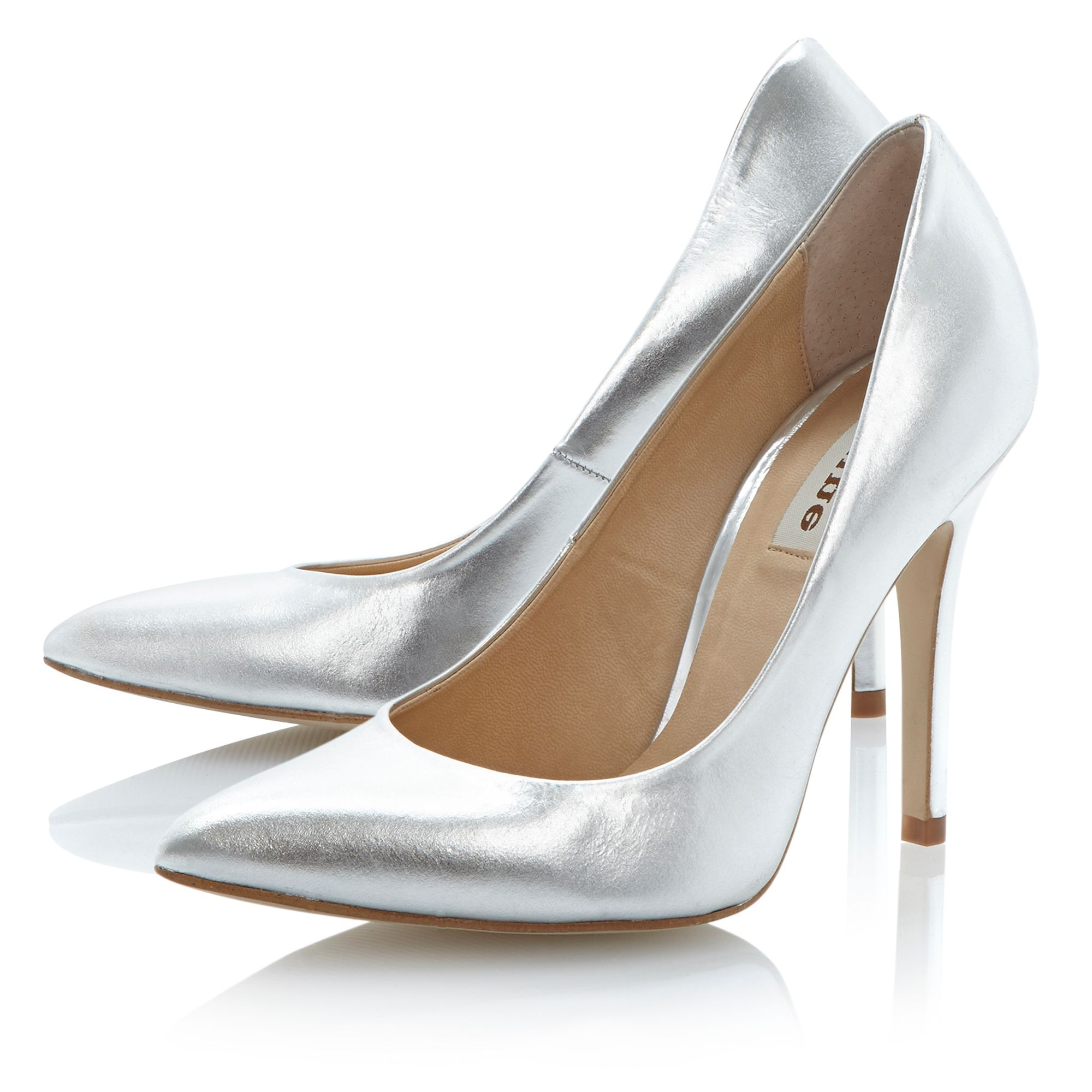 Alvino pointed court shoes