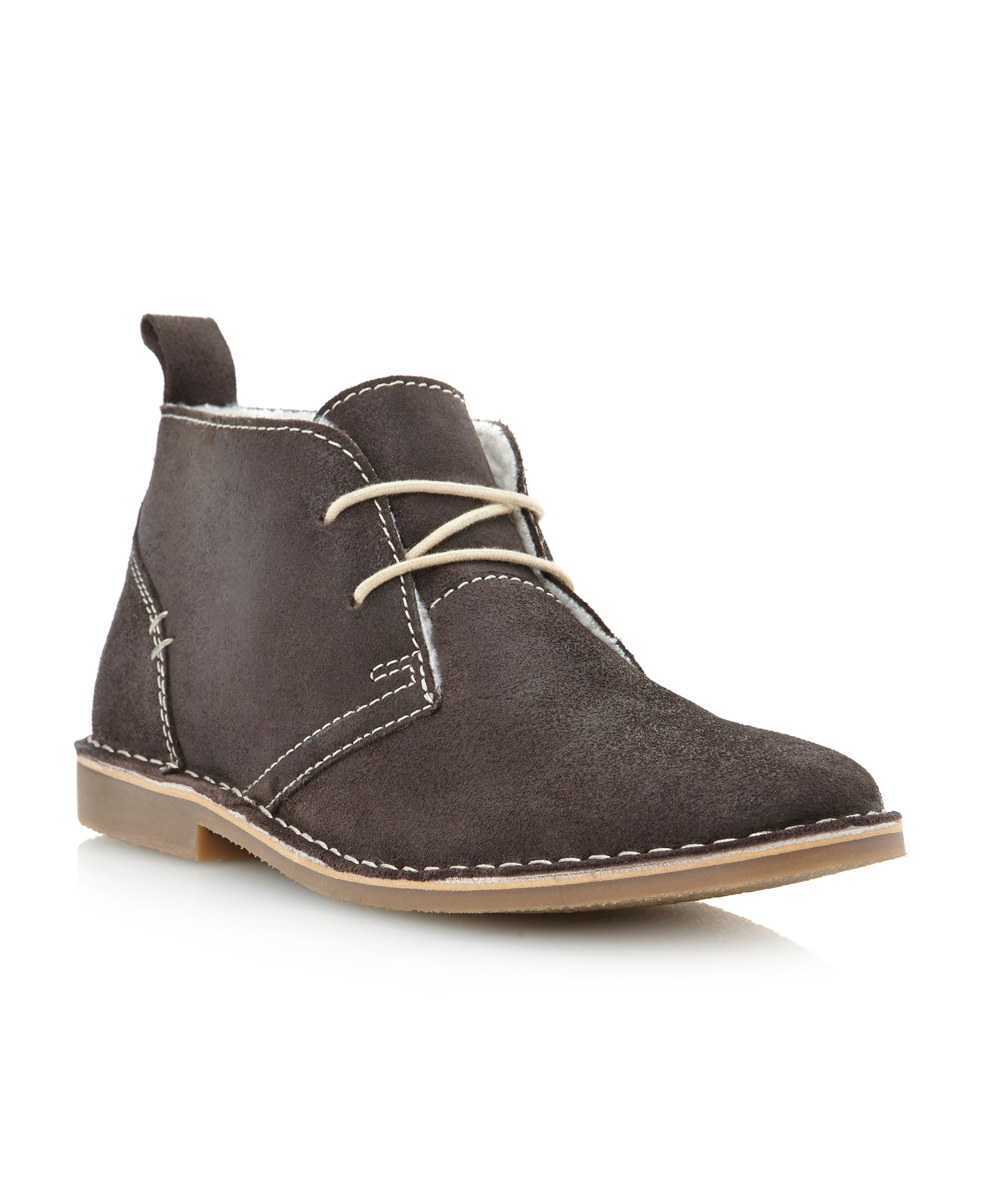 Hampstead faux fur lined desert boot