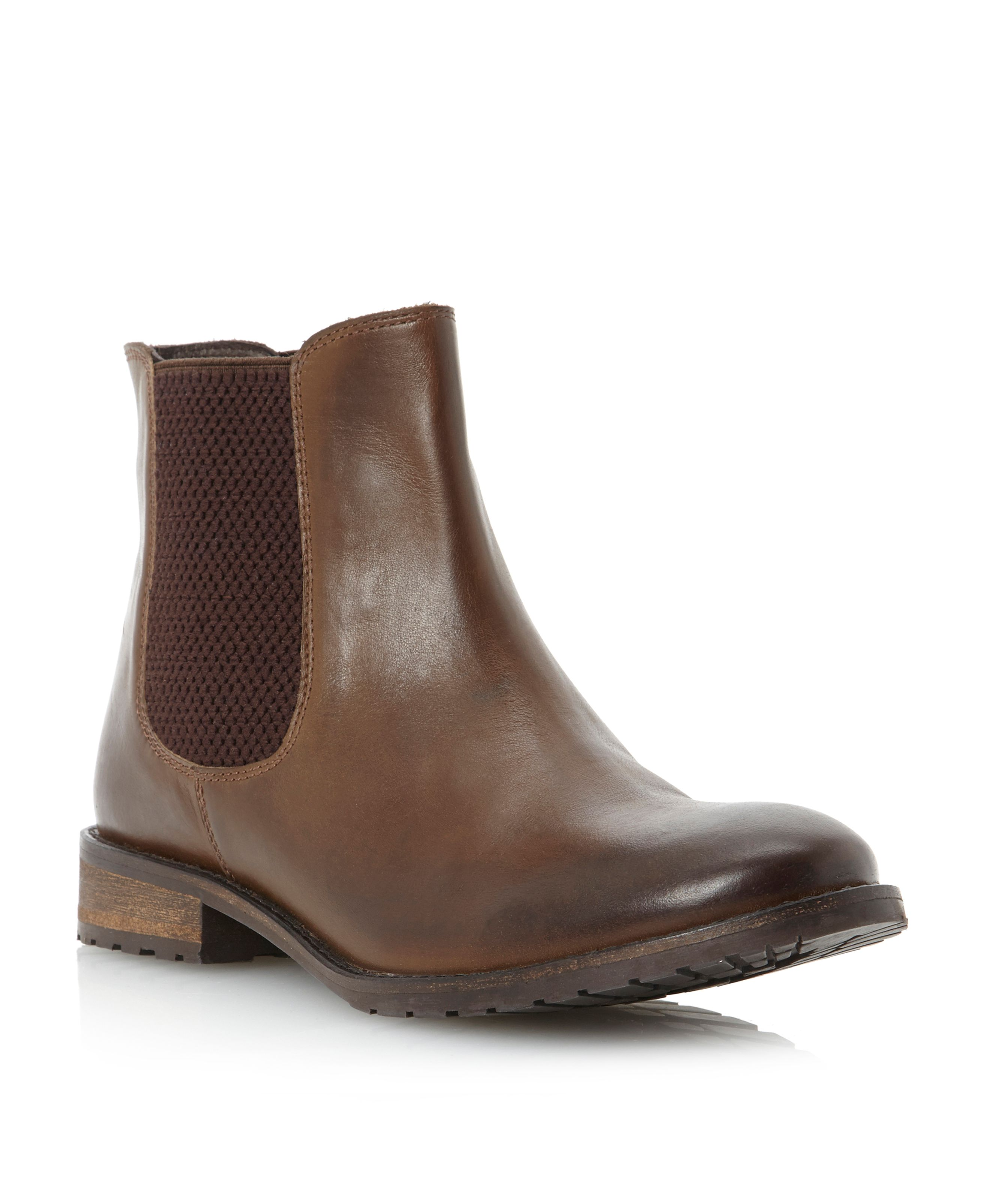 Pallas cleated chelsea boots
