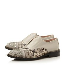 Georgi laceless toecap loafers