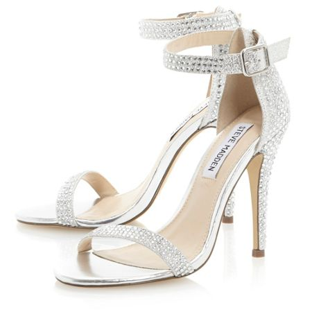 Realov-R-jewelled single sole sandals