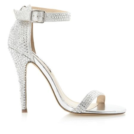 Steve Madden Realov-R-jewelled single sole sandals