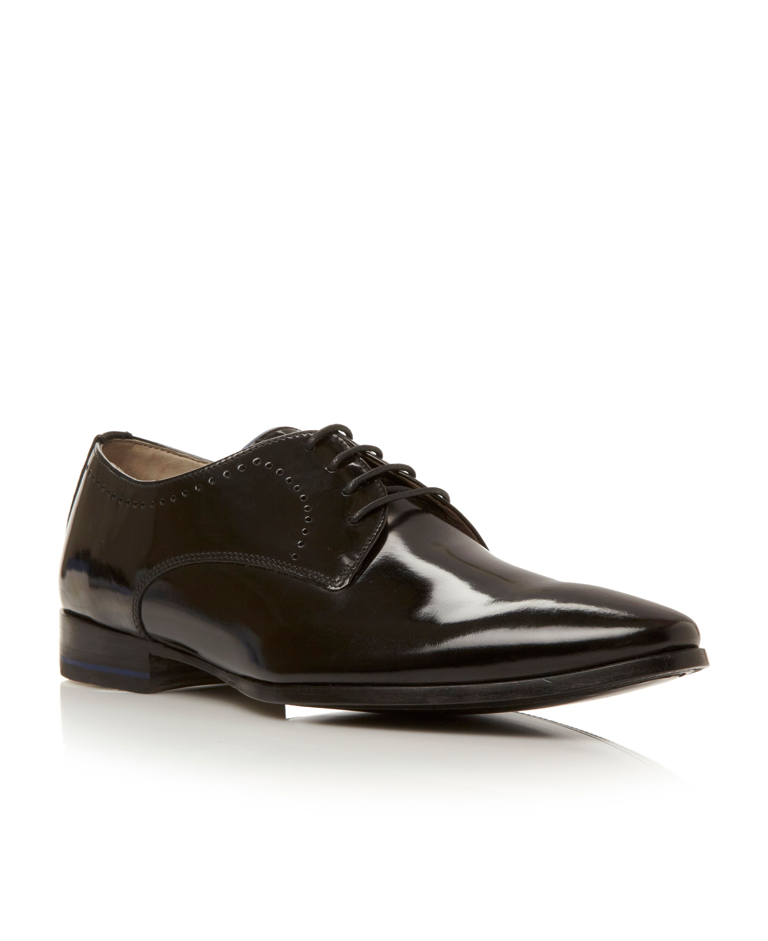 Bramford-punched detail formal shoe