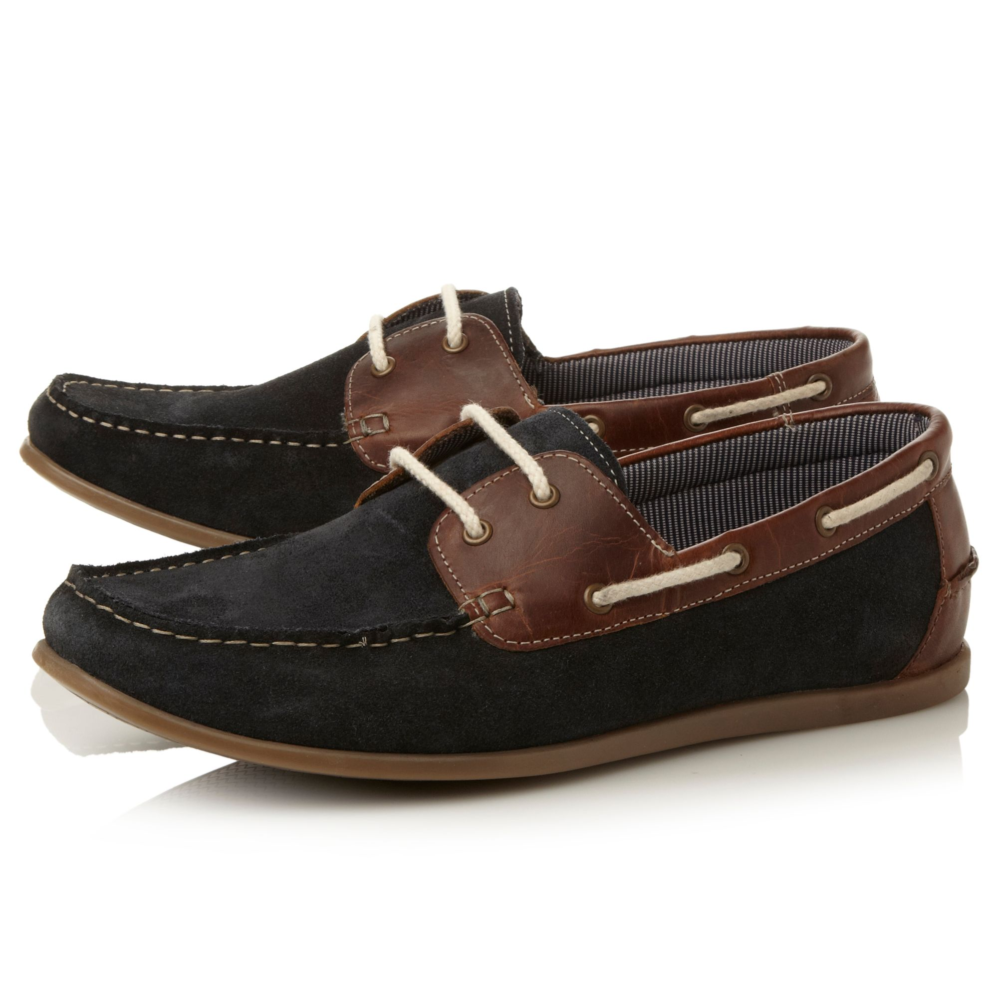 Horner two tone boat shoe