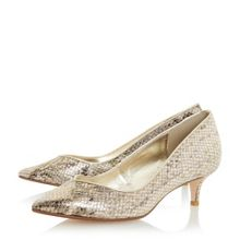 Allice sweetheart court shoes