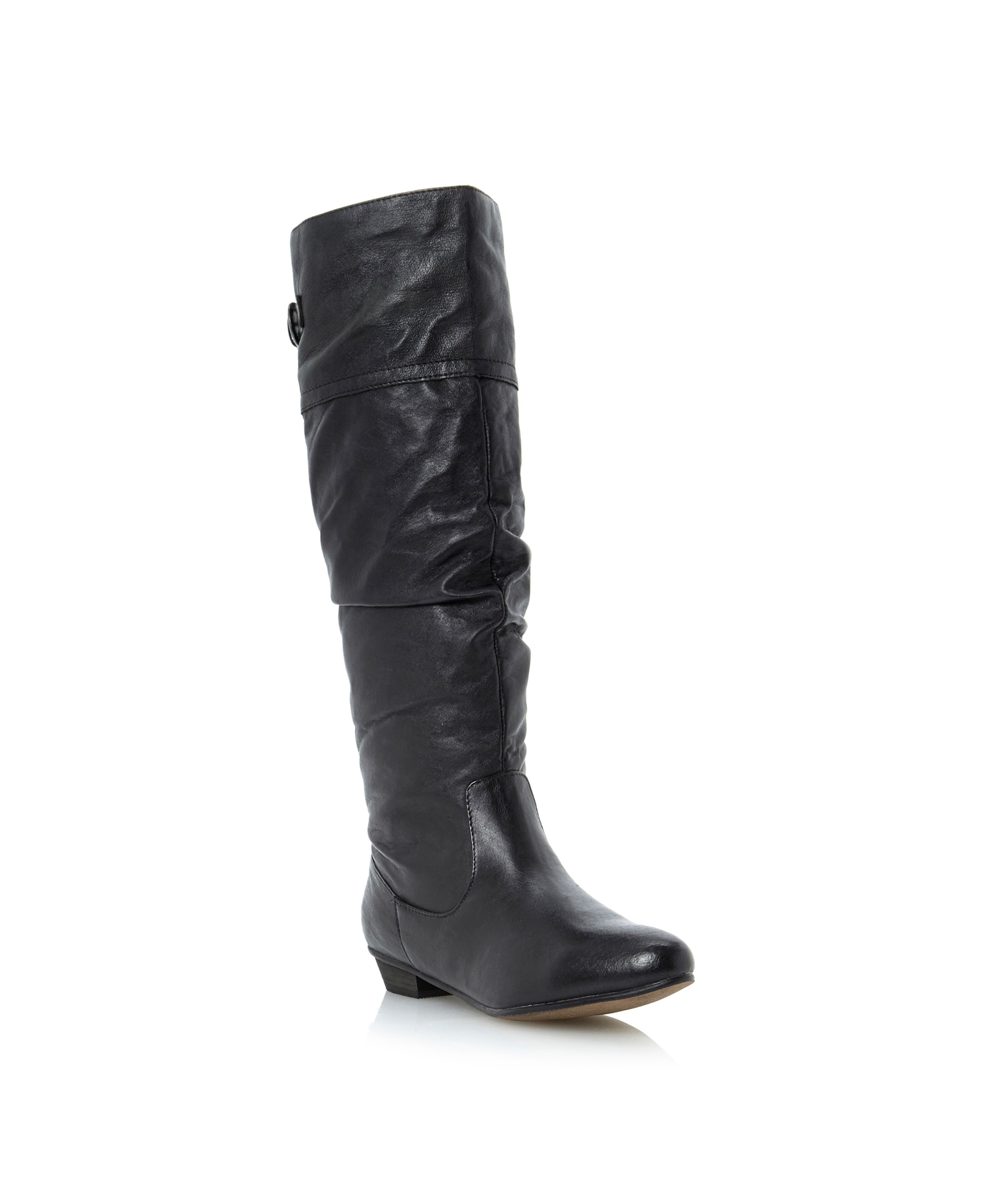 Steve Madden Craave Sm slouch high boots Black