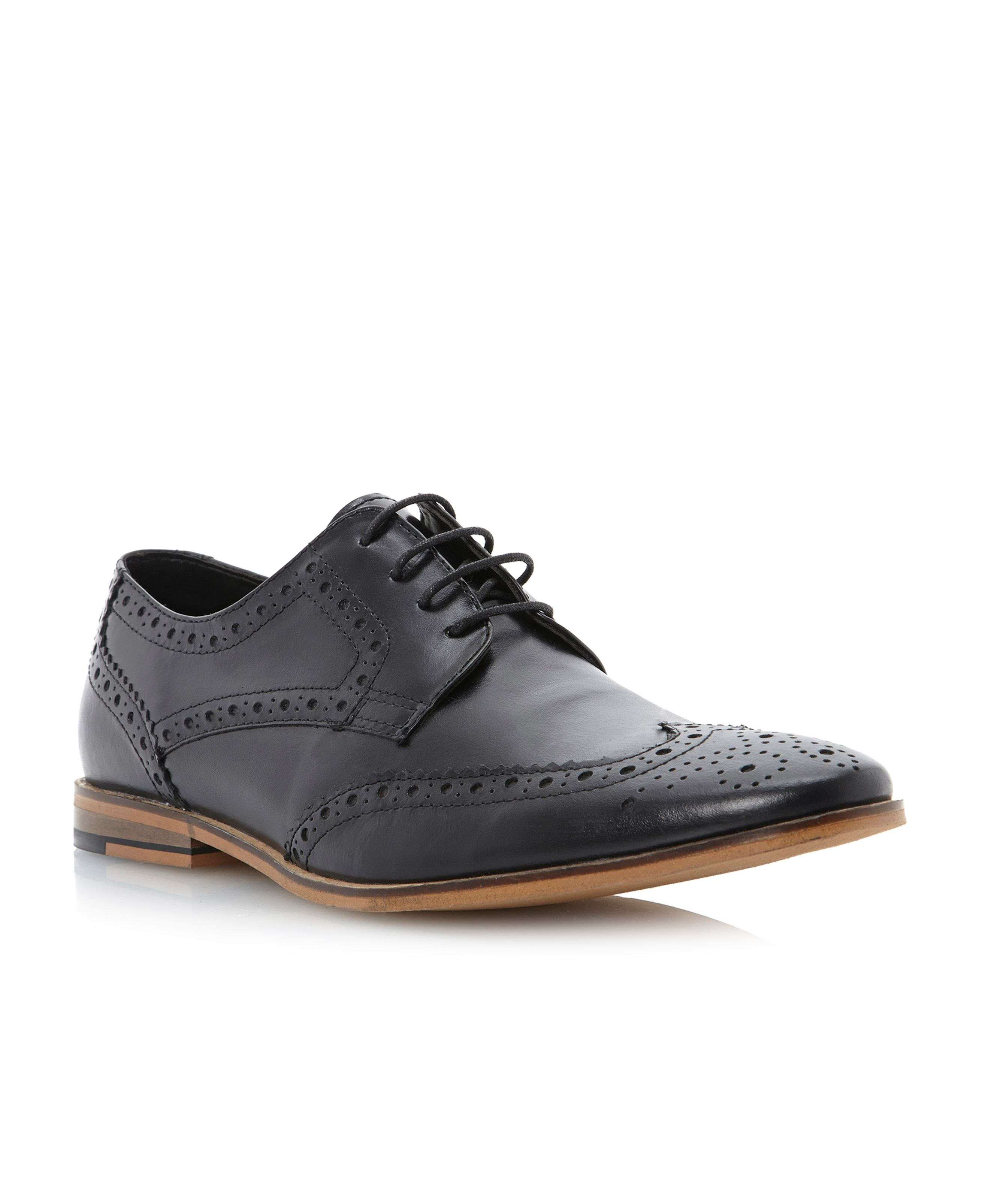 Brompton casual brogue lace up
