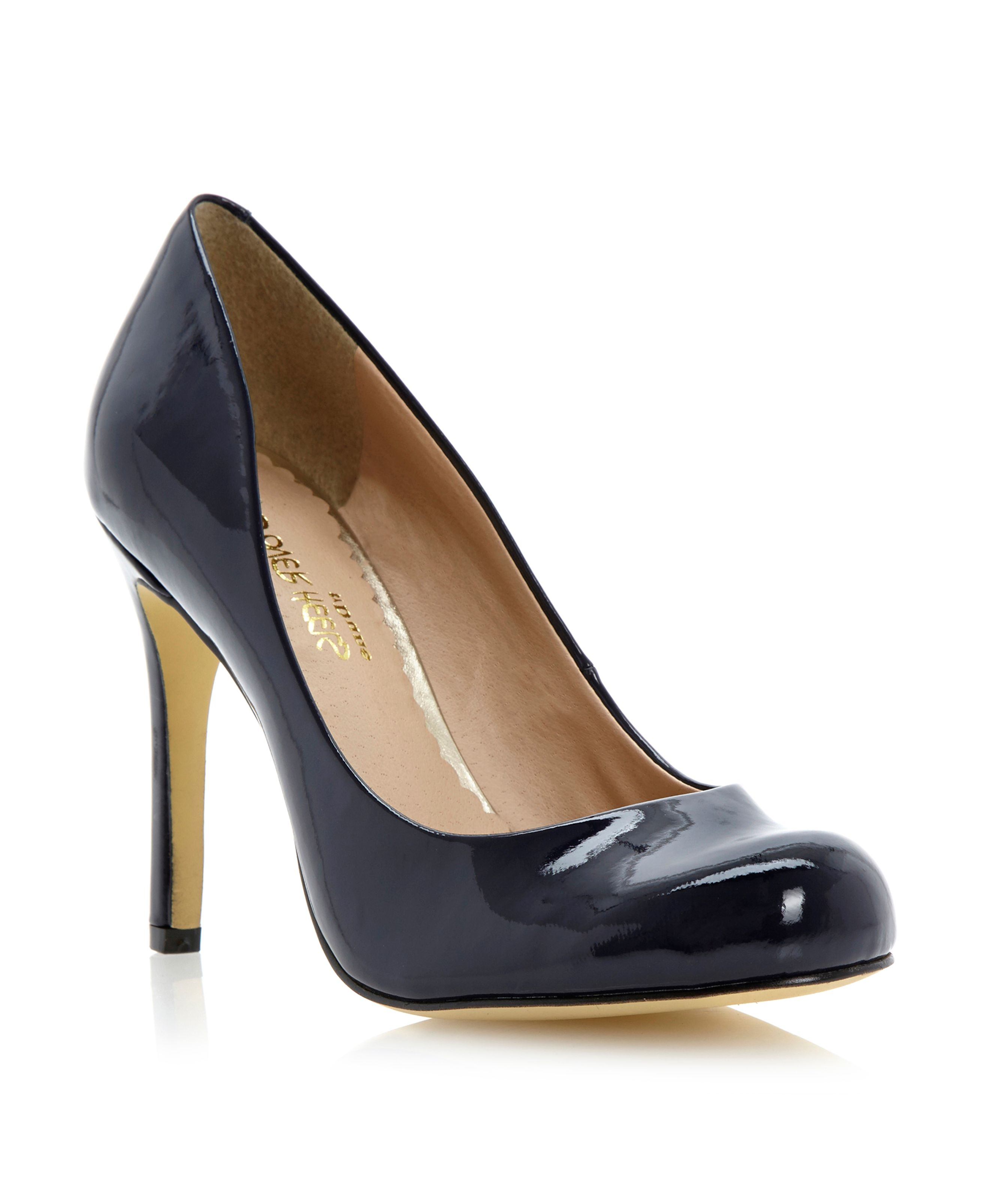 Amberlyn round toe court shoes
