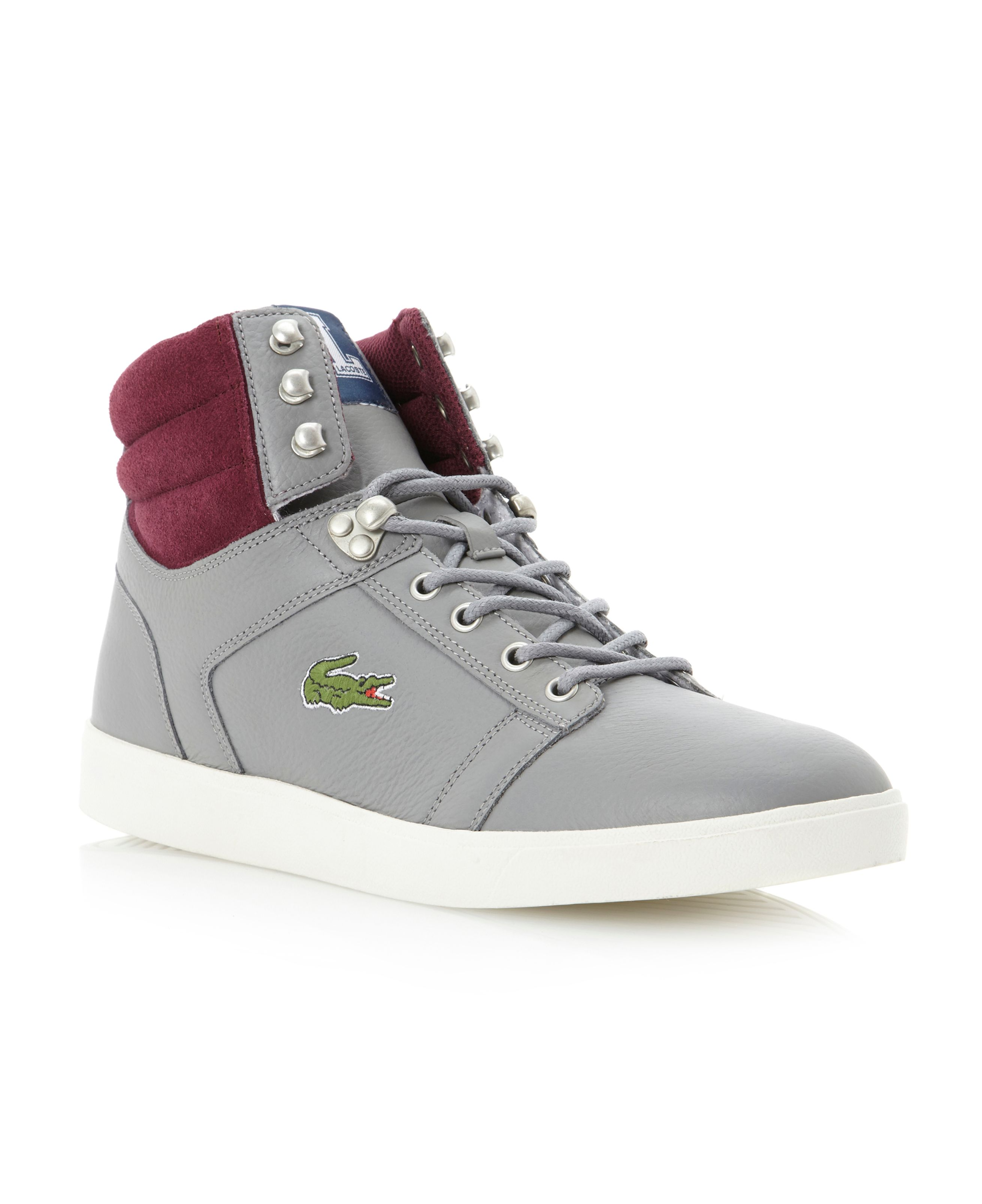 Orelle Mcs padded collar hi top