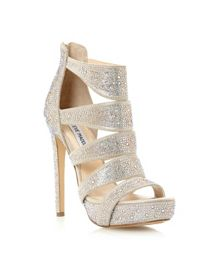 Spycee-R jewelled caged high heel sandals