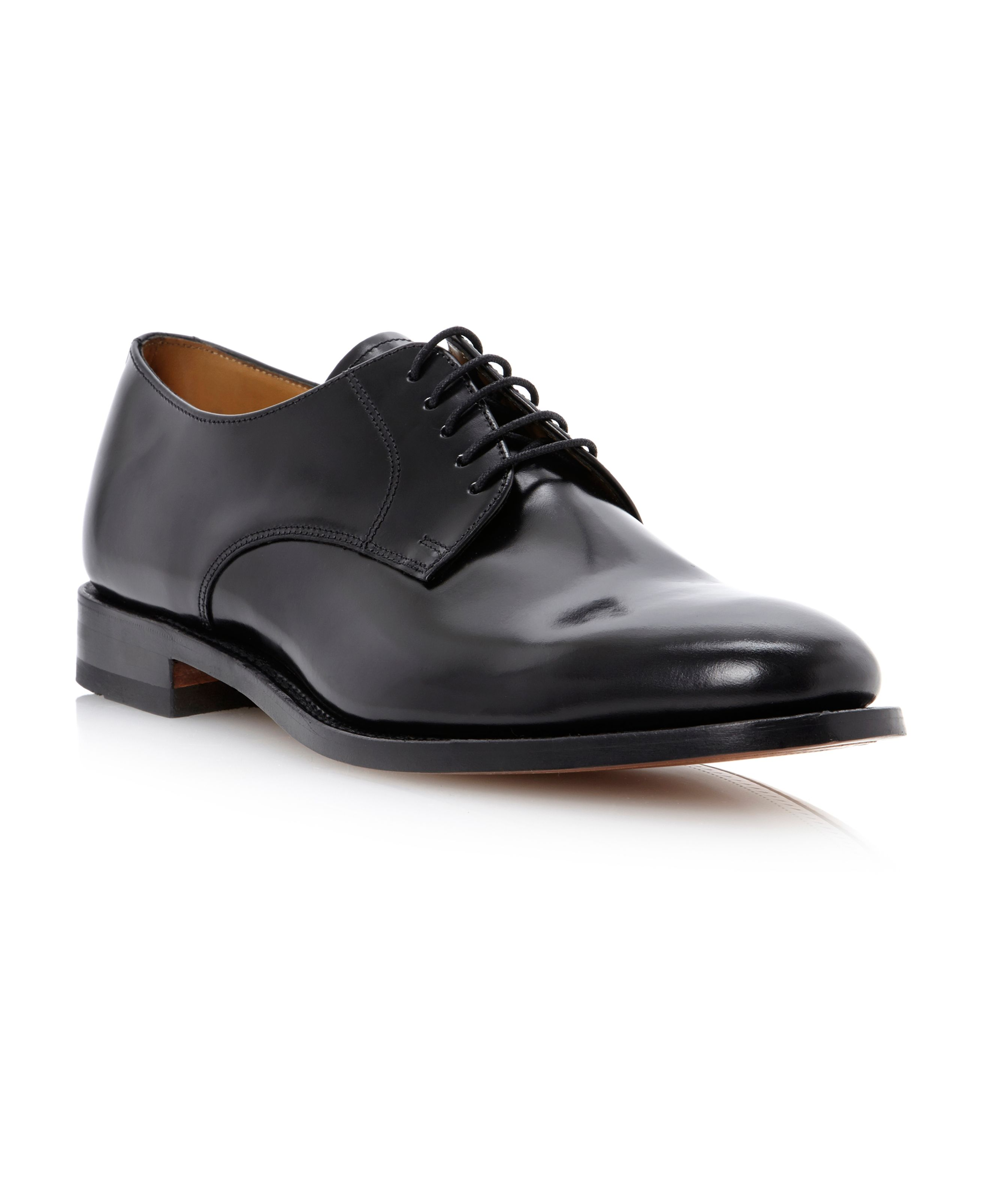 205B plain toe 5 eye lace gibson shoe