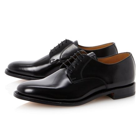 Loake 205B plain toe 5 eye lace gibson shoe