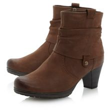 Brignall Nu-fold down rouched boots