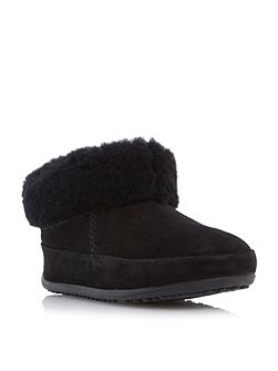 Mukluk shorty faux fur cuff detail boots