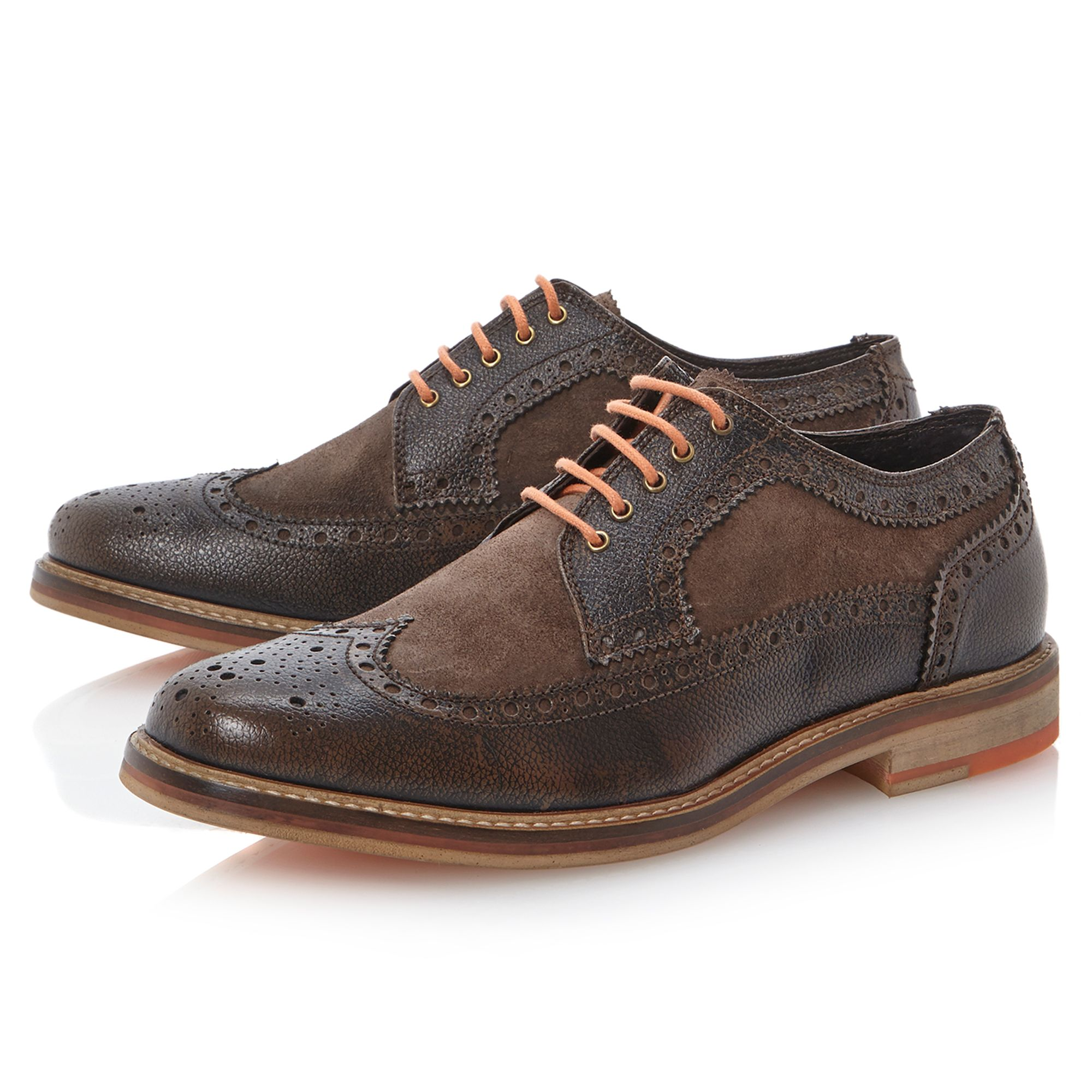 Bethnal Green colour pop brogues