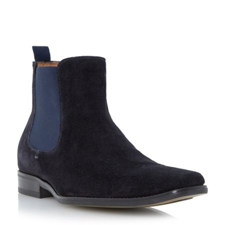 Dune Marky Slip On Formal Chelsea Boots