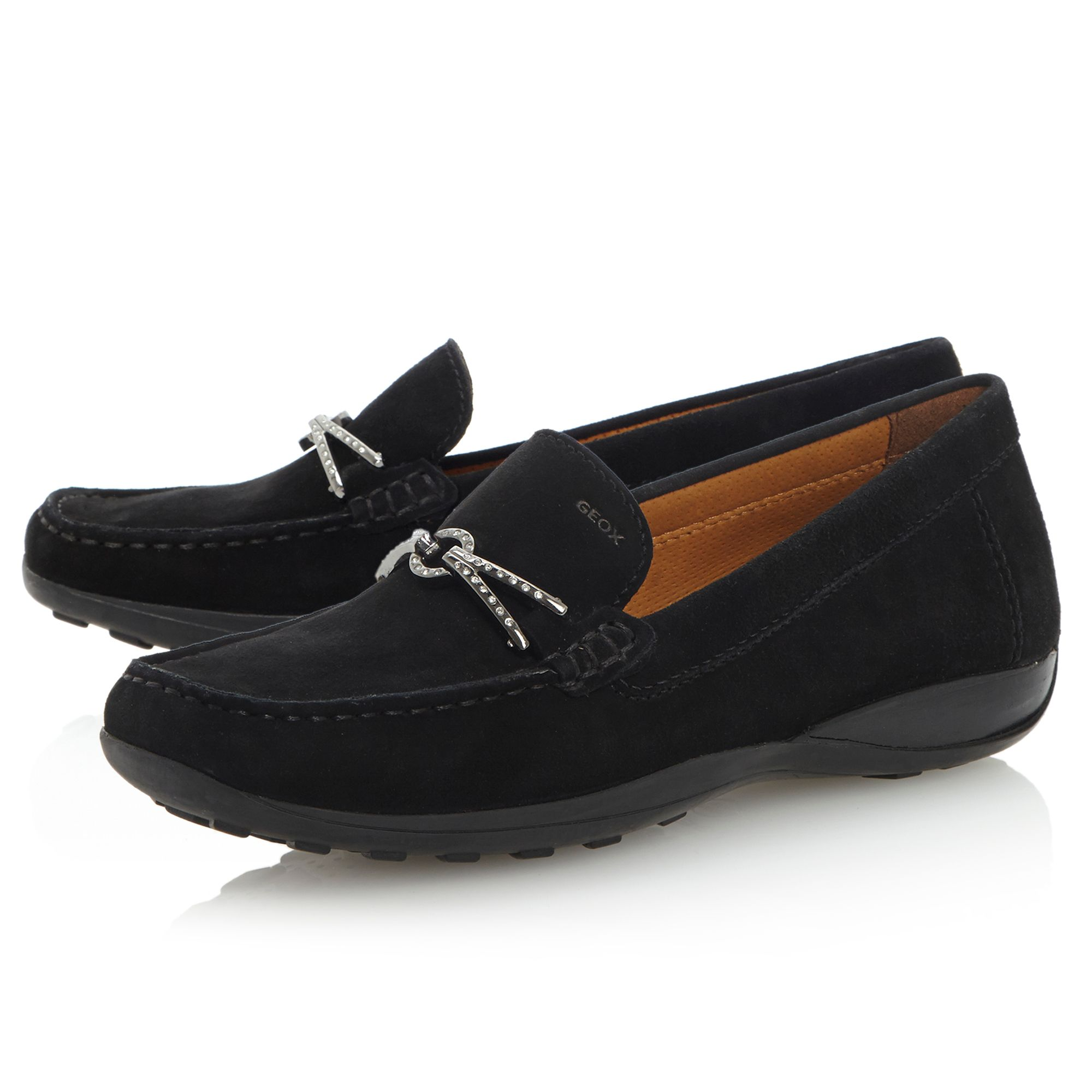 Winter Euro D34-diamonte snaffle moccasin shoes