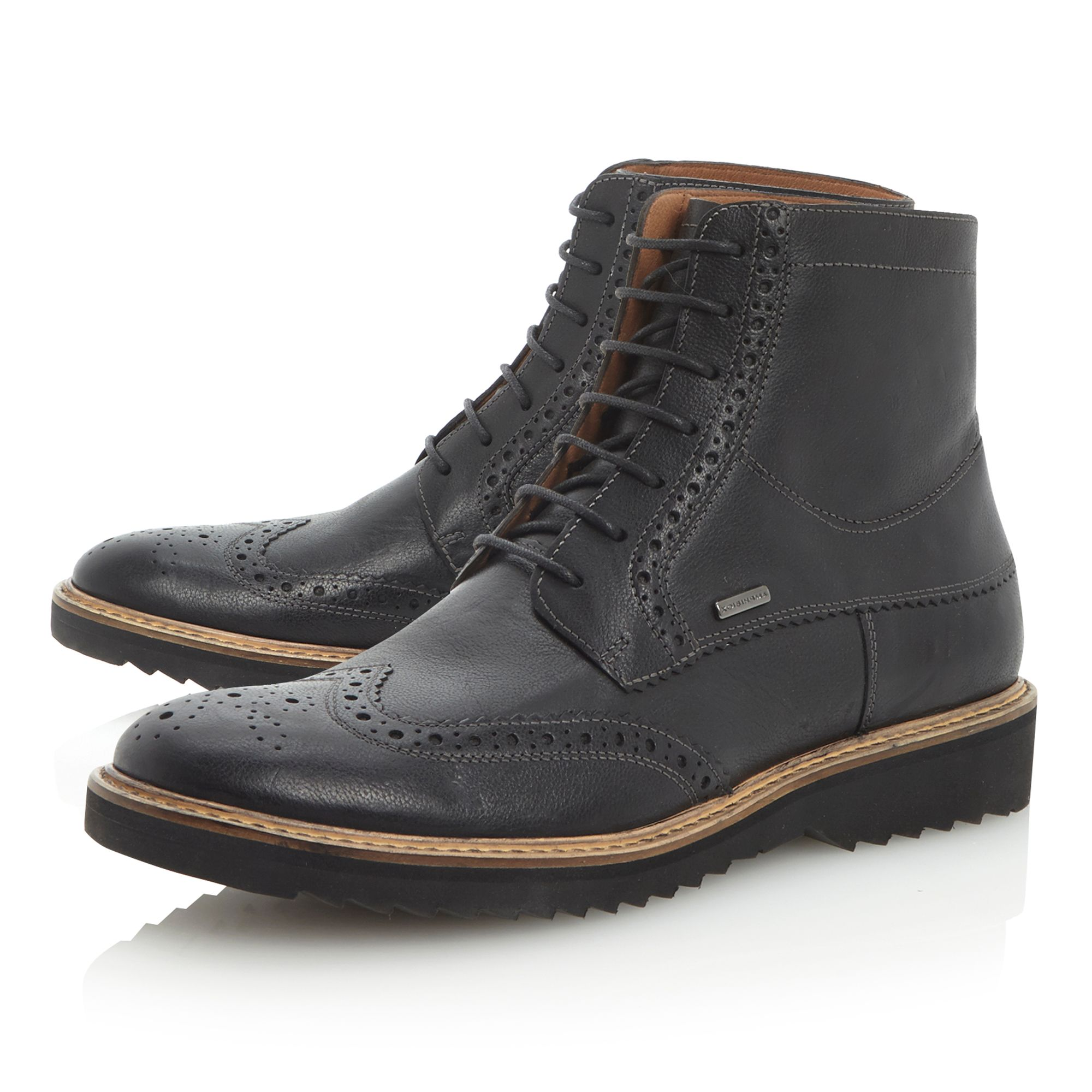 Chester Abx U34 wedge brogue boot