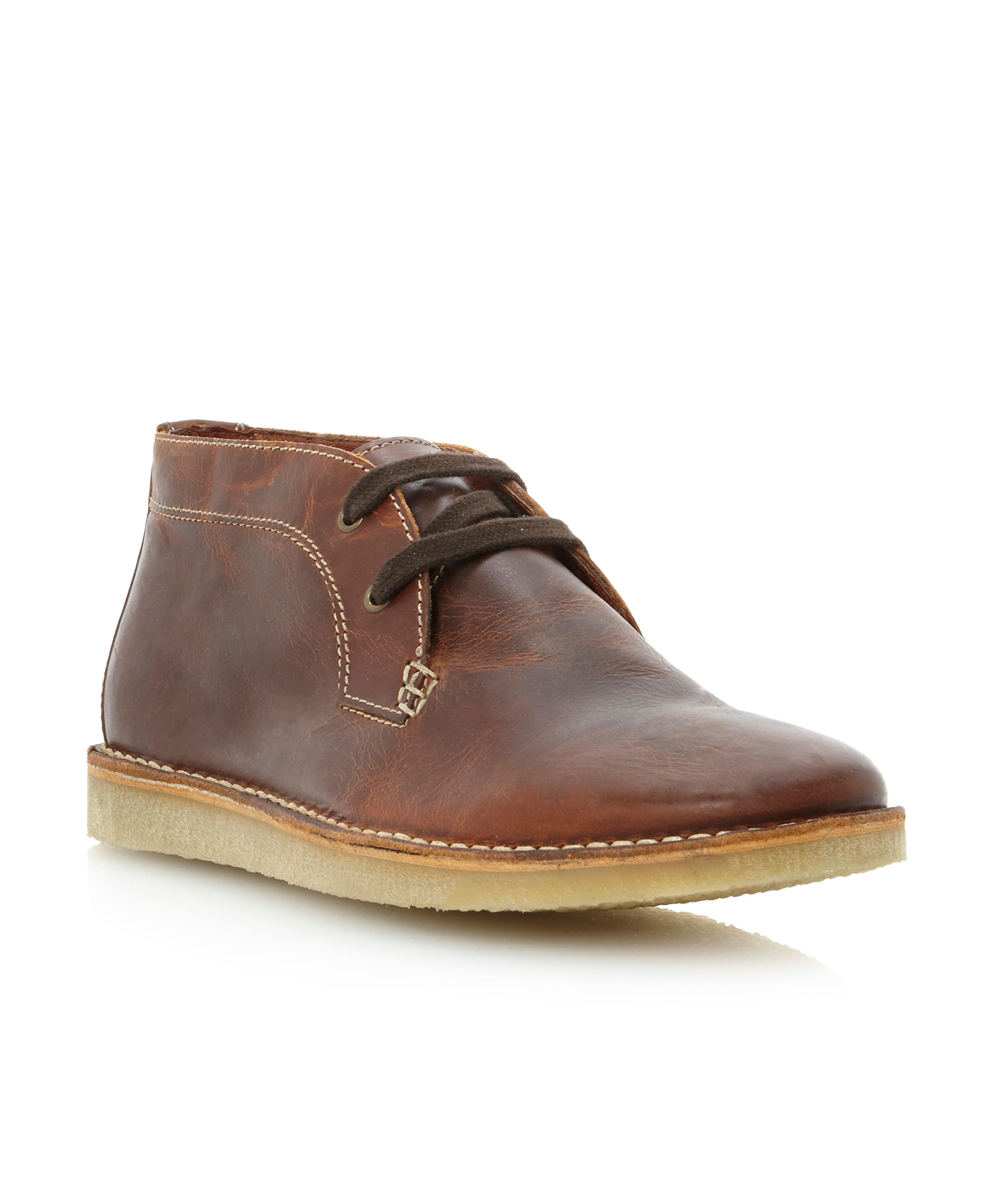 Cornwall wedge faux fur lined desert boot