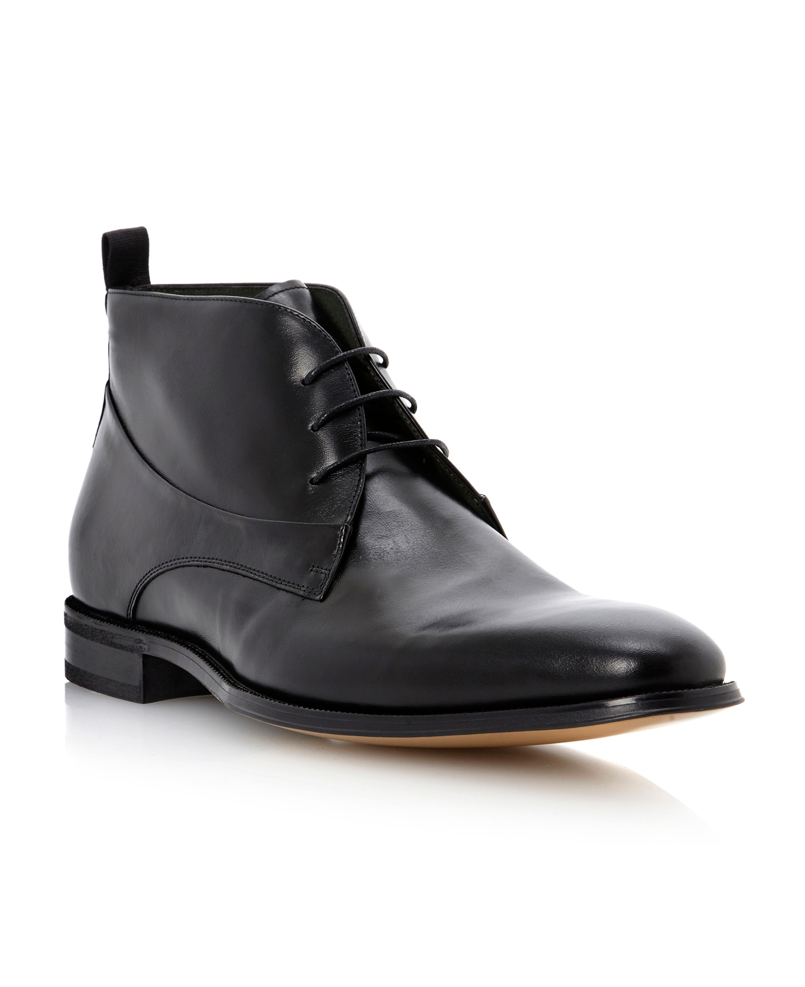 Cartwright lace up leather boot