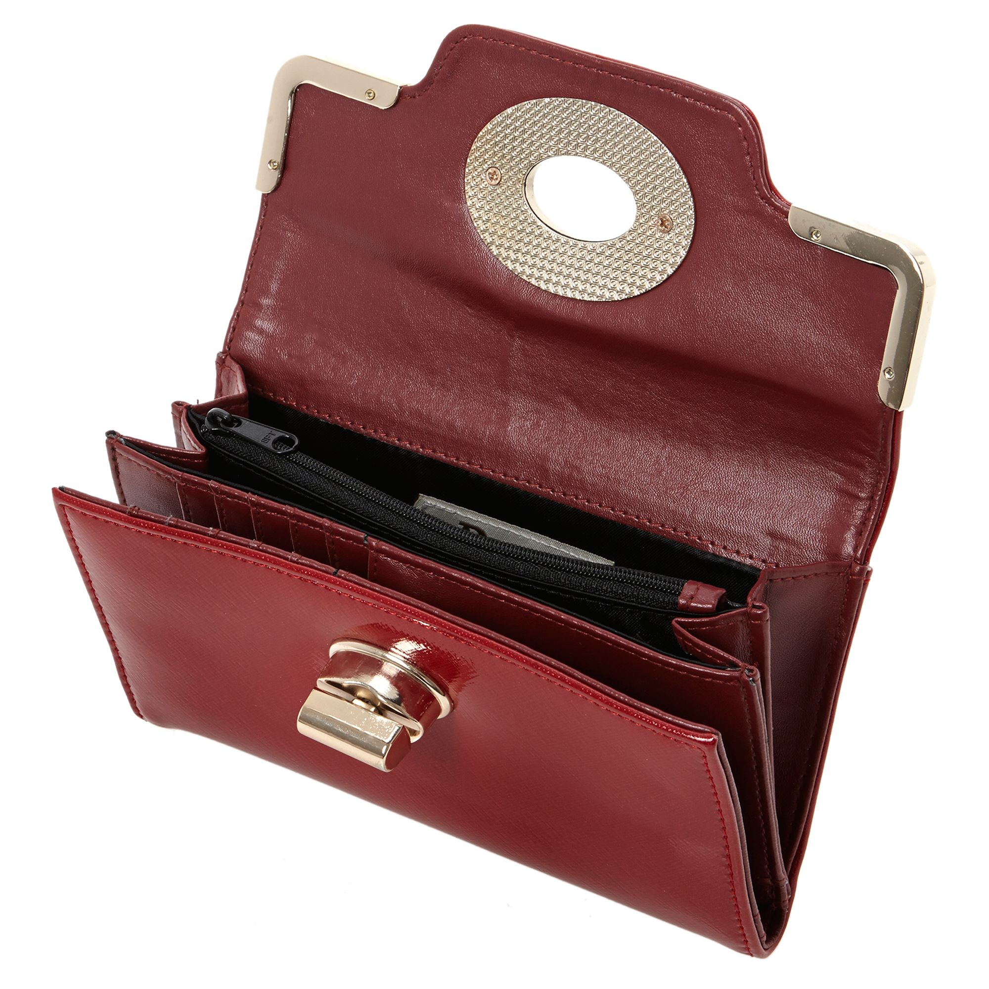 Kinny turnlock front purse