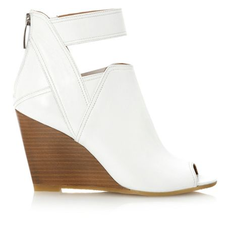 Dune Gracy ankle strap leather sandals