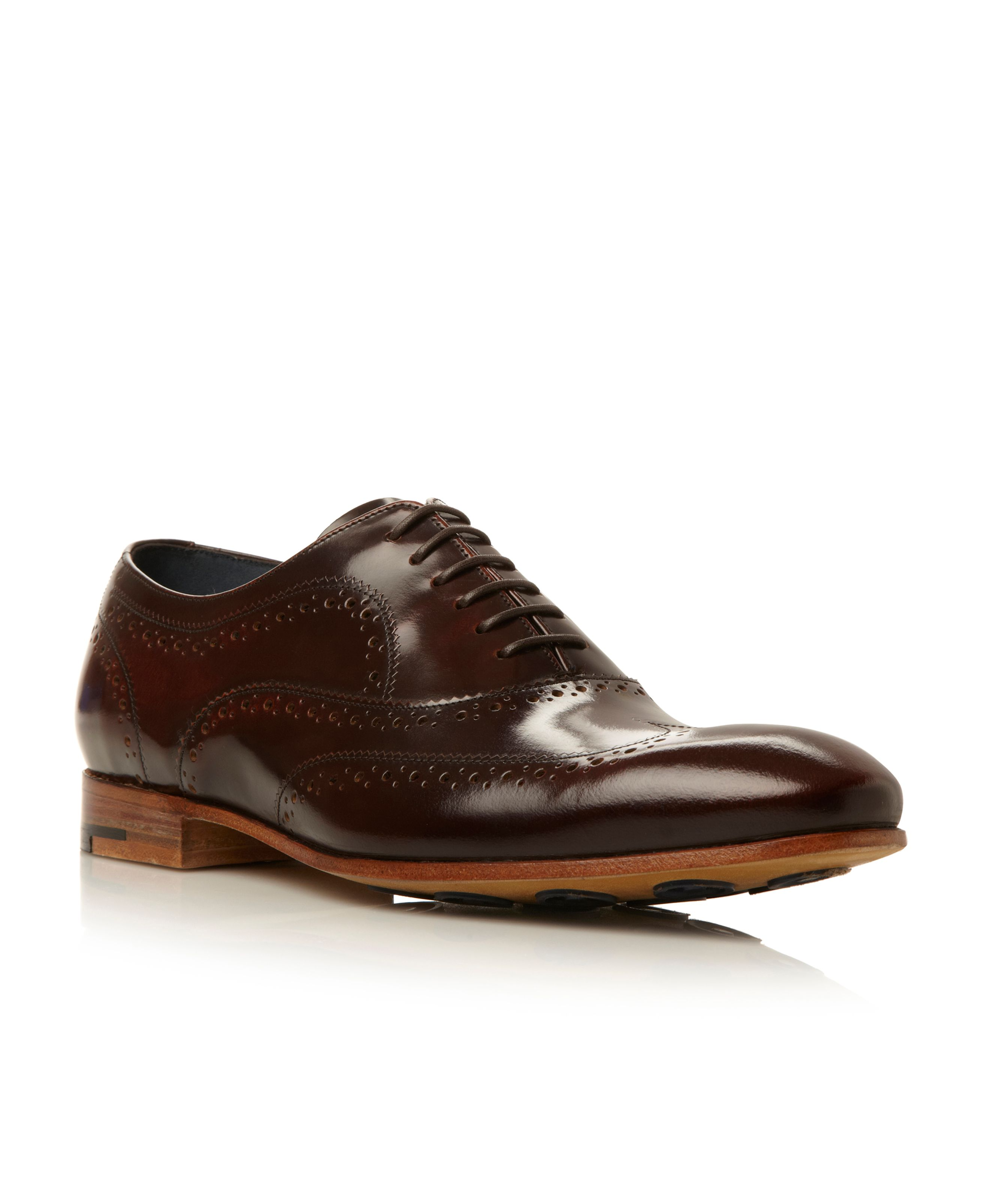 Holmes oxford lace up brogue