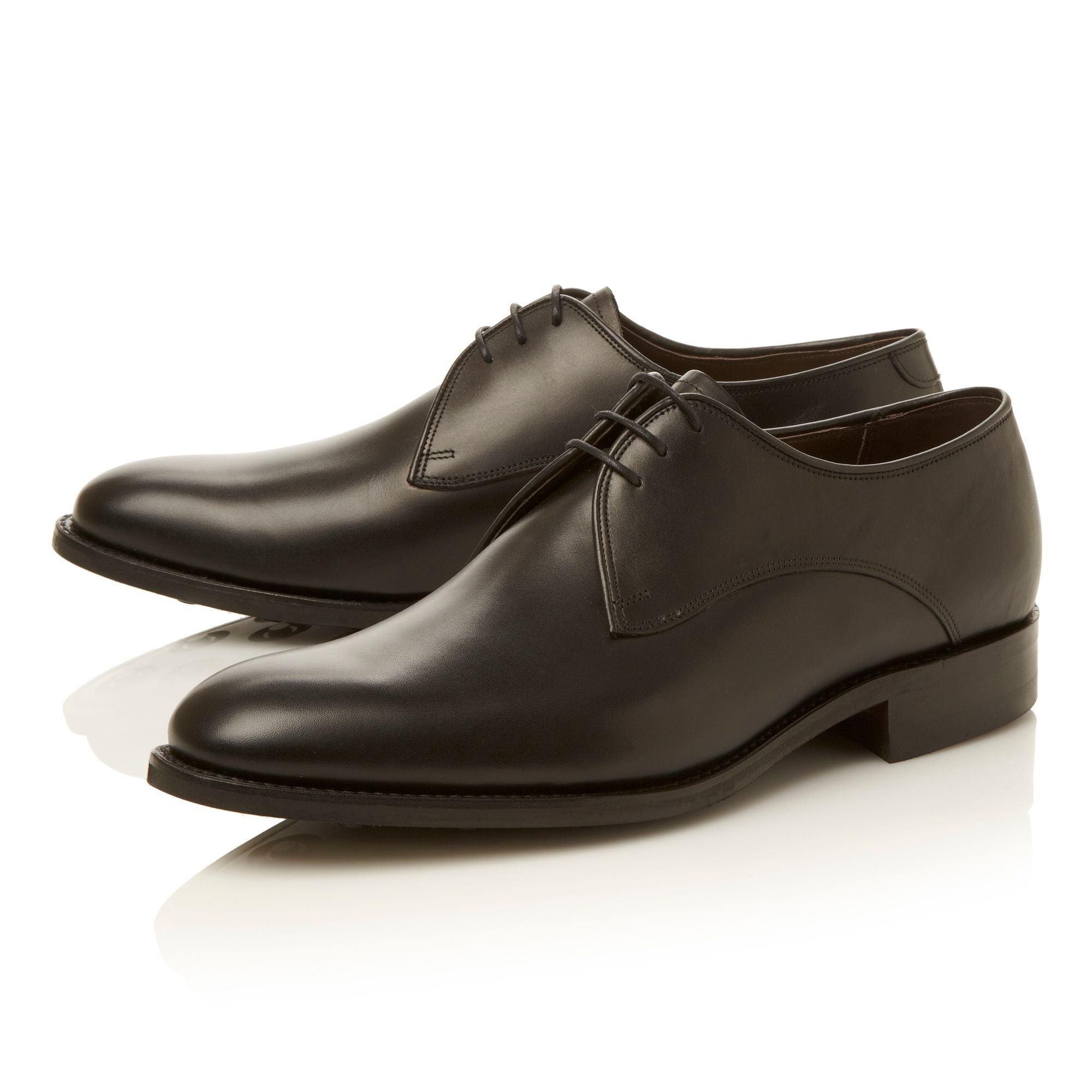 Pitlochry-plain toe 3 eye lace gibson