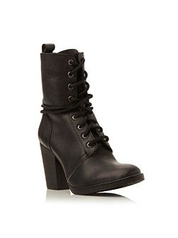 Steve Madden Jupiter-h sm heeled leather lace up